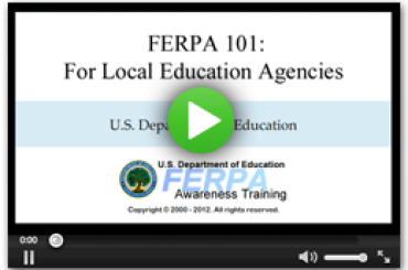 Watch Video: FERPA 101 For Colleges & Universities